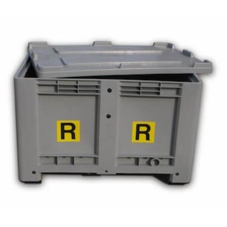 Contenitore Raccolta Batterie Esauste