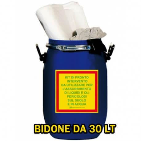 Kit per Oli in Contenitore da 30 Lt