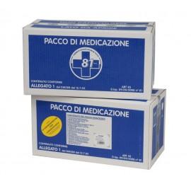Kit Reintegro Cassetta Pronto Soccorso Allegato 1 Maggiorato Con Sfigmomanometro Cat. A + B Più 3 Lavoratori