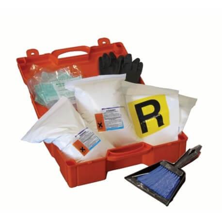 Kit Emergenza Acido per Autotrasporti