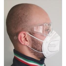 Occhiali di Protezione Trasparente Confezione da 10 Pz