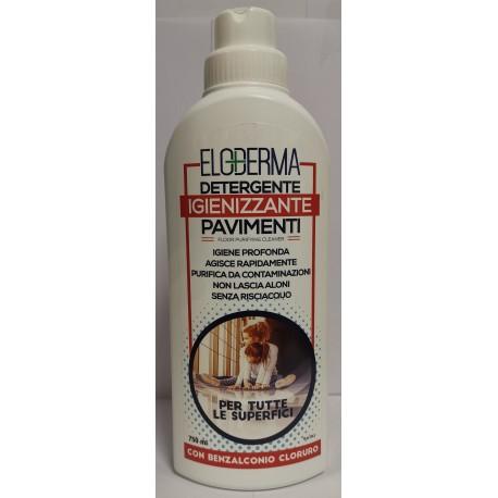 12 Pz Per Scatola - Detergente Igienizzante Pavimenti Con Benzalconio Cloruro da 750 ml